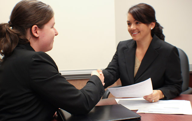 Mock Interviewing and the Real Thing!